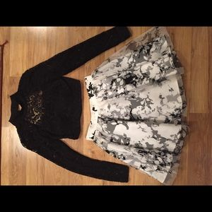 Dresses & Skirts - Black and white homecoming dress!